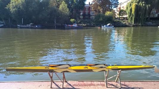 K2 Rennkajak SIPRE TEVATRON marathon racing kayak Zweier Rennboot