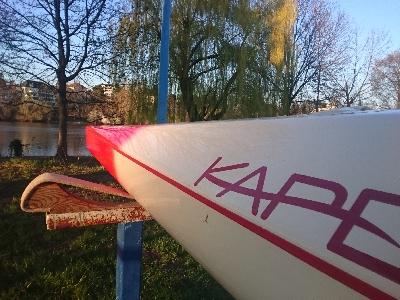 Marathon- und Trainingsboot