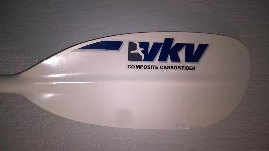 VKV Karbon Tourenpaddel teilbar