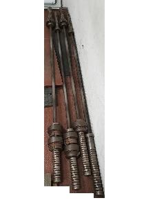 Hantelstange + Gewichte + Scheibenständer, 56mm, Olympia