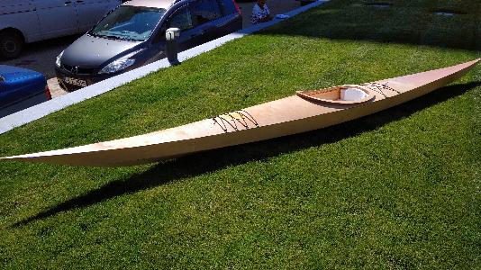 Holz/Seekajaks nach Bestellung