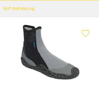 Neopren Schuh